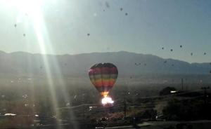 RETA hot air balloon crash NM photo