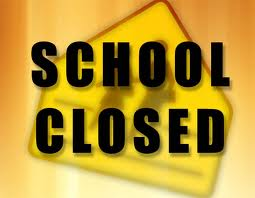 RETA school closure sign image