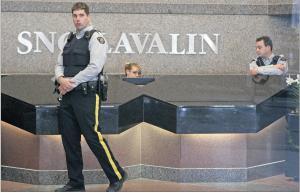 RETA SNC Lavalin RCMP photo inside apr 13 2012