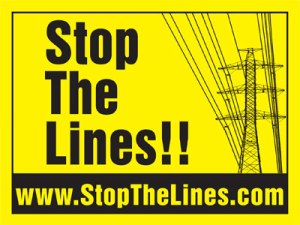 RETA Stop The Lines logo