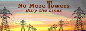 RETA Towers No More Bury the Lines logo