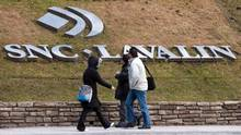 RETA SNC-Lavalin logo on lawn recent image