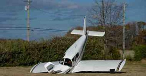 RETA airplane crash into power lines image 3