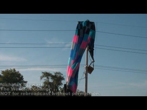 RETA hot air balloon crash into power line image