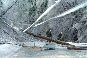 RETA ice storm damage image 1