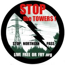 RETA Northern Pass stop the towers image