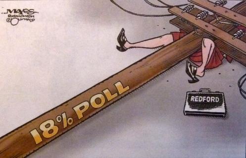 RETA Alison Redford resignation cartoon