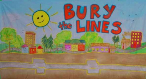 RETA Bury the Lines Mural