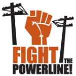 RETA Fight the Power Line logo image
